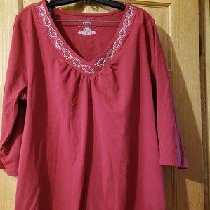 3/4 sleeve shirt